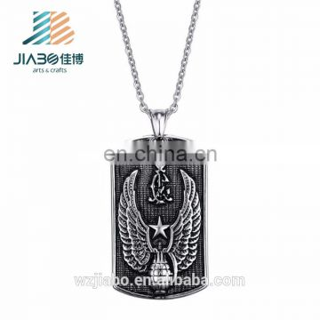 New design bulk cheap personalized embossed dog tags for wholesales