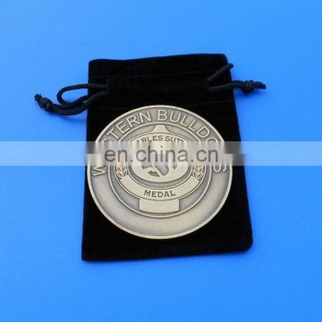 Custom Challenge Coin Antique Bronze Award Medal Coin