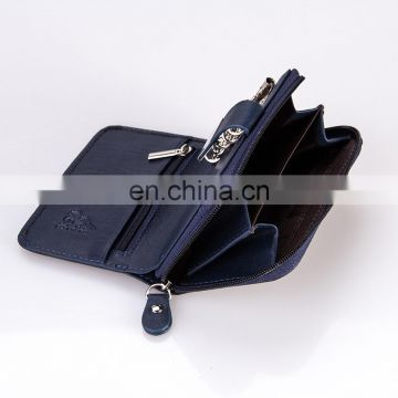 China Manufacture Low Price Genuine Leather Small Leather Coin Purse