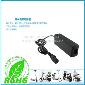 INTAI 42v 2a 84w charger for E-bike electric scooter 36vLead-acid battery charger