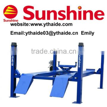 **SUNSHINE brand 4 post car lift used for alignment(SXJS4019)