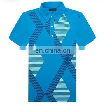 Custom 100% polyester 7xl golf polo shirts for men