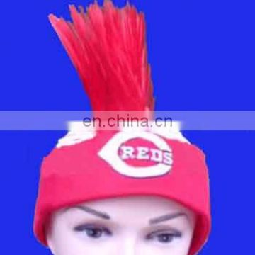 Factory direct sell 2018 world cup fans promotion gifts for football fan wig