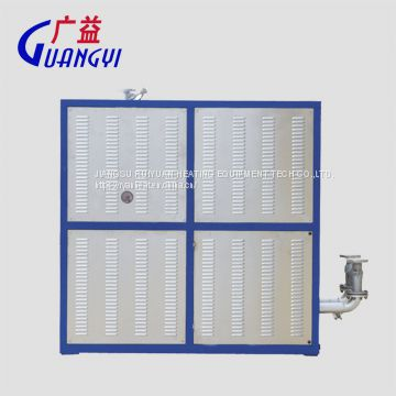 60KW electric thermal oil heater for heat corrugated paper