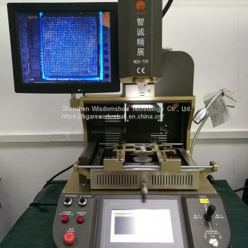 New released WDS-720 automatic bga machine with infrared heating