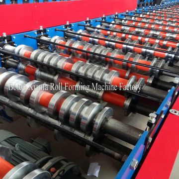 Two Heads Roll Forming Machine