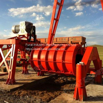 Roller Suspension Concrete Culvert Pipe Machine