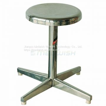 AG-NS009 Wholesale Surgical Operation Simple Stainless Steel Doctor Stool