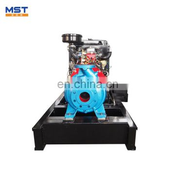 Large diesel engine driven fire fighting water pump