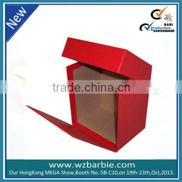 Red magnetism gift paper box
