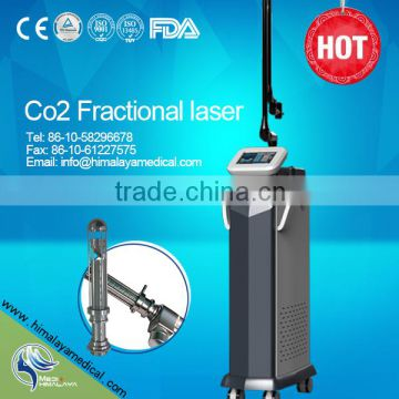 RF Tube Strong Energy Multifunction Face Lifting Scar Removal Fractional Co2 Laser Machine Portable