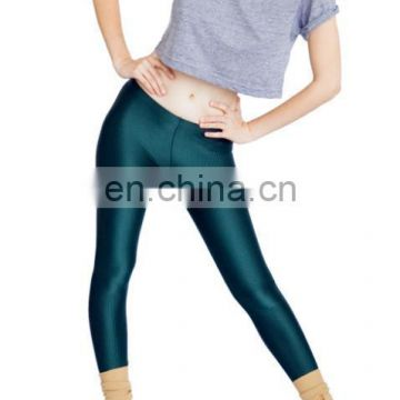 Custom all over sublimation shiny yoga pants indian manufacturers