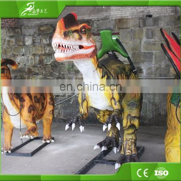 KAWAH Life Size Animatronic Rides For Kids Amusement Machines