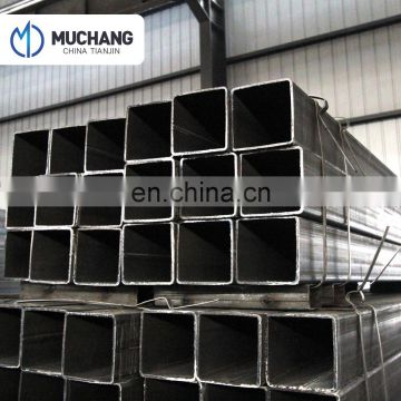 Black annealed steel square pipe / hollow section