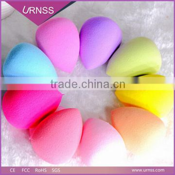 Hotsale Beauty BB Cream Egg Blender Sponge Latex free beauty Sponge/Non Latex makeup sponge with PVC package