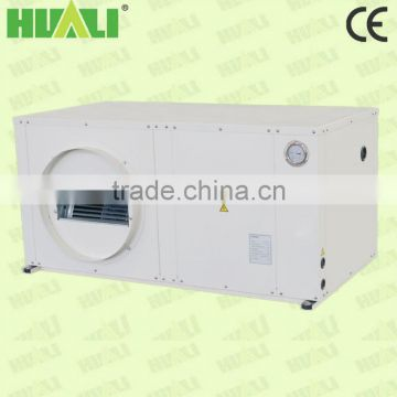 Package type heating and cooling all in one ceiling water source heat pump