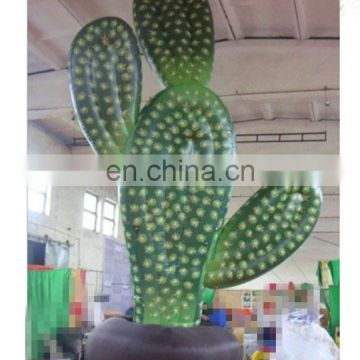artificial outdoor inflatable cactus Forest park decoration