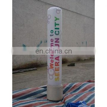 Inflatable totem, inflatable light column,inflatable light tube