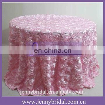TC031 handmade turkey rosette tablecloth flower designs