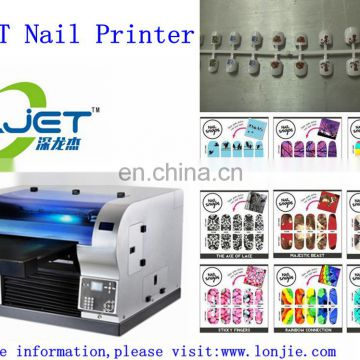 SLJET digital photo 3d nail art sticker printer for sale