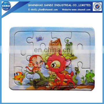 Cheap price custom paper puzzle jigsaw
