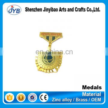 good quality replica metal custom military medal ribbons of honors