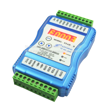 6 Channels Digital Signal to Relay Output Isolation Data Acquisition Support Modbus TCP with Ethernet RJ45 (no isolation