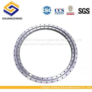 Hot sale China shuangzheng heavy duty Single row Crossed roller crane use slewing bearing