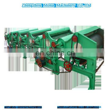 High efficiency textile cotton waste recycling machine for open end yarn