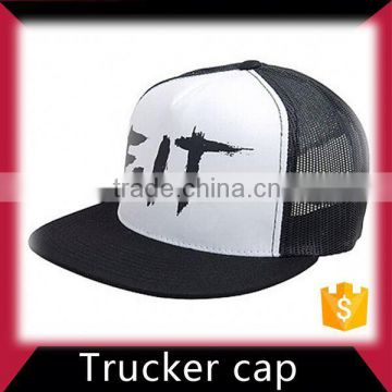 Blank snapback trucker hat and cap
