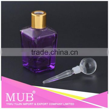Dubai wholesale market OEM Welcome transparent glass perfume