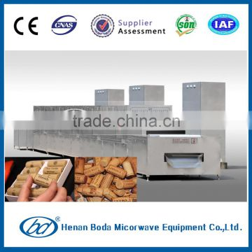 microwave industrial dryer red wine cork sterilizing machine