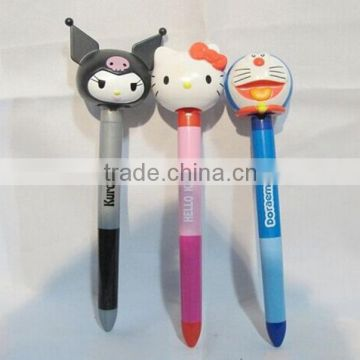 Custom design pencil topper ,OEM cartoon plastic pencil topper,Special design animal pencil topper