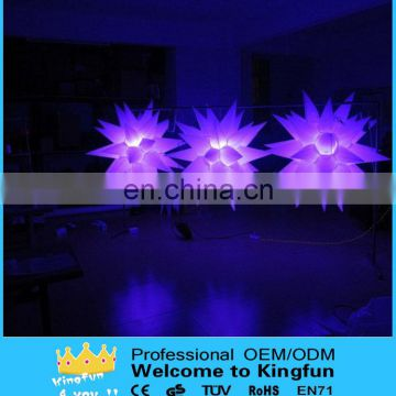 Illuminated stage inflatable star