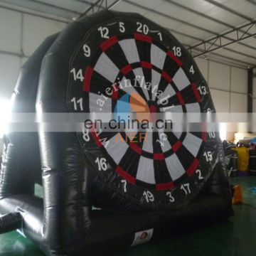 2017 Factory new design inflatable carnival foot dart board gate for sale
