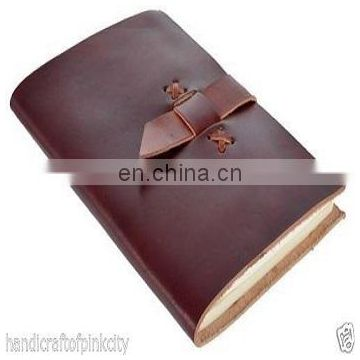 LARGE Leather Journal Diary Sketchbook Notebook Handmade Vintage Blank Retro