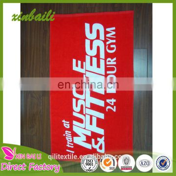 High quality Adult Velour printed customized size 100% cotton beach towel