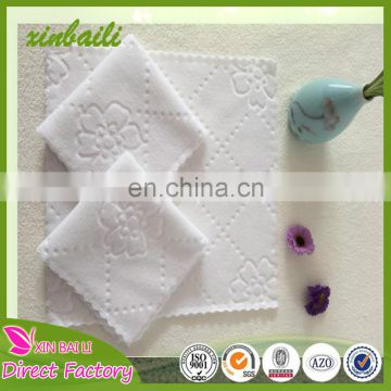 China factory microfiber white disposable towel for hotel from alibaba china manufacturers