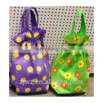 fashion non woven gift drawstring bag