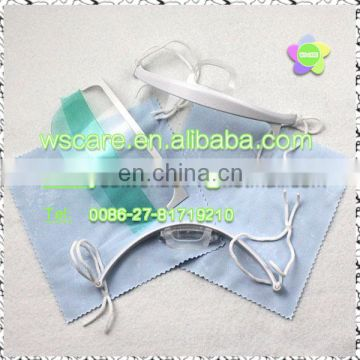 Custom anti-fog disposable non woven PP blue face mask with ISO13485