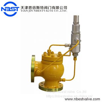 Low Pressure DN200 API DIN  Large Size Relief Valve, Safety Valve For Air