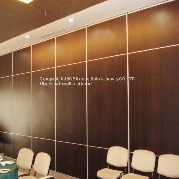 Fabric Soundproof Aluminum Track Channel Folding Movable Operable Partition Walls