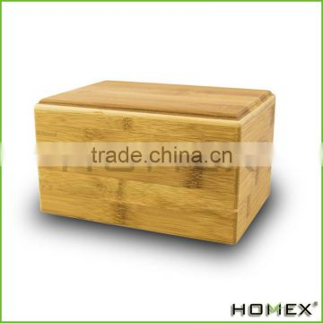 Pet Cremation Urn Bamboo Box Homex BSCI/Factory