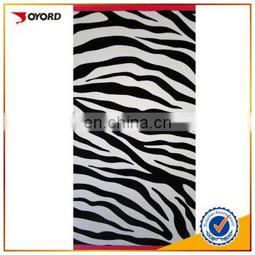 hot digital sublimation towel factory printed yoga towel
