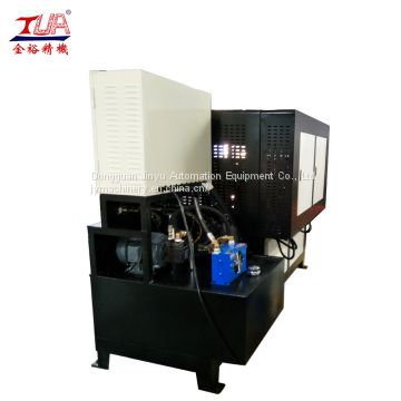 China oil hydraulic KPU shoe vamp press forming machine