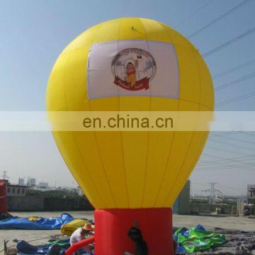 advertising inflatable ground balloon/cold air inflatable balloon