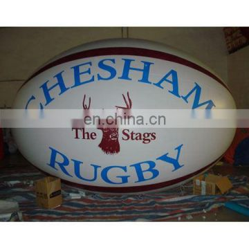 inflatable egg PVC balloon/helium balloon/promotional rugby balloon/PVC advertising balloon/helium cube/sphere/event ball/blimp