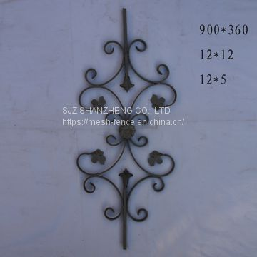 Wrought iron ornaments/ wrought iron elements/ wrought iron decorate parts
