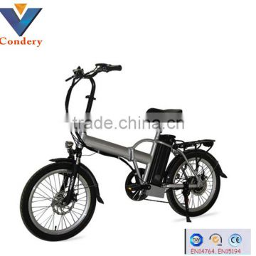 350w 20 inch 36V lithium battery electric bike electric bicycle electric folding electric bicycle