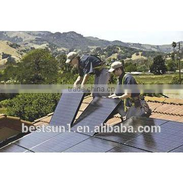 5000w Complete with battery and brackets solar energy power system